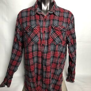 RetroFit Mens Button Down Shirt
